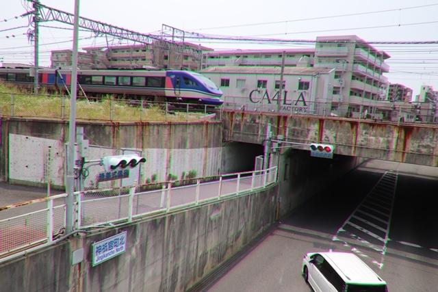 藤田八束の鉄道写真@ここは西宮、東海道本線が町中をはしります・・・瑞風、スーパーはくと、そして貨物列車「桃太郎」がはしる_d0181492_21223363.jpg
