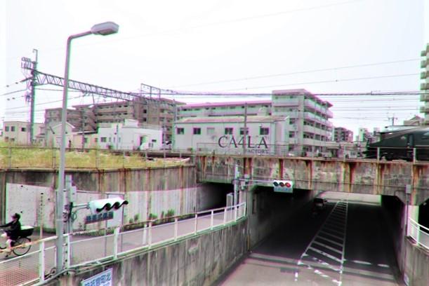 藤田八束の鉄道写真@ここは西宮、東海道本線が町中をはしります・・・瑞風、スーパーはくと、そして貨物列車「桃太郎」がはしる_d0181492_21321726.jpg