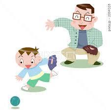 子供の頃のオヤジとのキャッチボール_d0358103_18543483.jpg