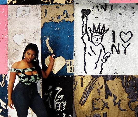 """NYのハドソン・ヤードに自分で描く体験型アート、""""I was here""""(私はここにいた)展示中_b0007805_08070651.jpg"""