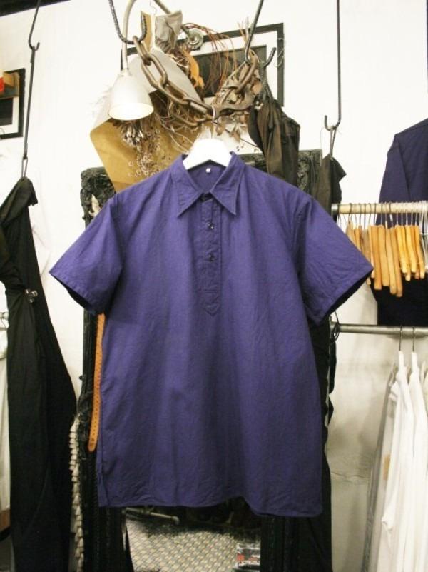 千葉のハンバーガー屋さん 入荷 夏のフランスワークウエア 珍しいワークシャツ、Tシャツ、ワークパンツなど_f0180307_00535601.jpg