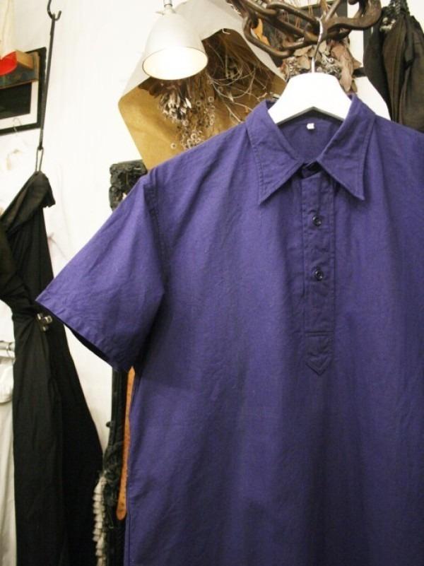 千葉のハンバーガー屋さん 入荷 夏のフランスワークウエア 珍しいワークシャツ、Tシャツ、ワークパンツなど_f0180307_00535647.jpg