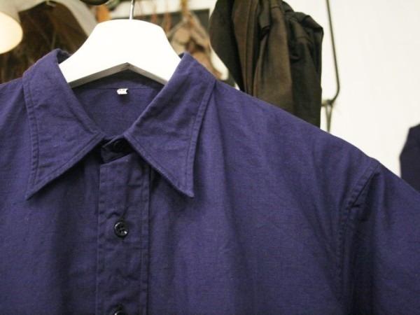 千葉のハンバーガー屋さん 入荷 夏のフランスワークウエア 珍しいワークシャツ、Tシャツ、ワークパンツなど_f0180307_00535795.jpg