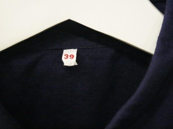 千葉のハンバーガー屋さん 入荷 夏のフランスワークウエア 珍しいワークシャツ、Tシャツ、ワークパンツなど_f0180307_00535943.jpg