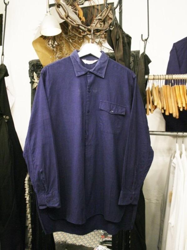 千葉のハンバーガー屋さん 入荷 夏のフランスワークウエア 珍しいワークシャツ、Tシャツ、ワークパンツなど_f0180307_01092635.jpg