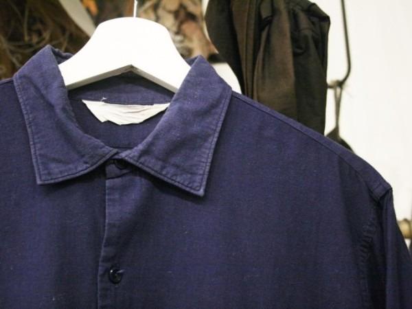 千葉のハンバーガー屋さん 入荷 夏のフランスワークウエア 珍しいワークシャツ、Tシャツ、ワークパンツなど_f0180307_01092708.jpg