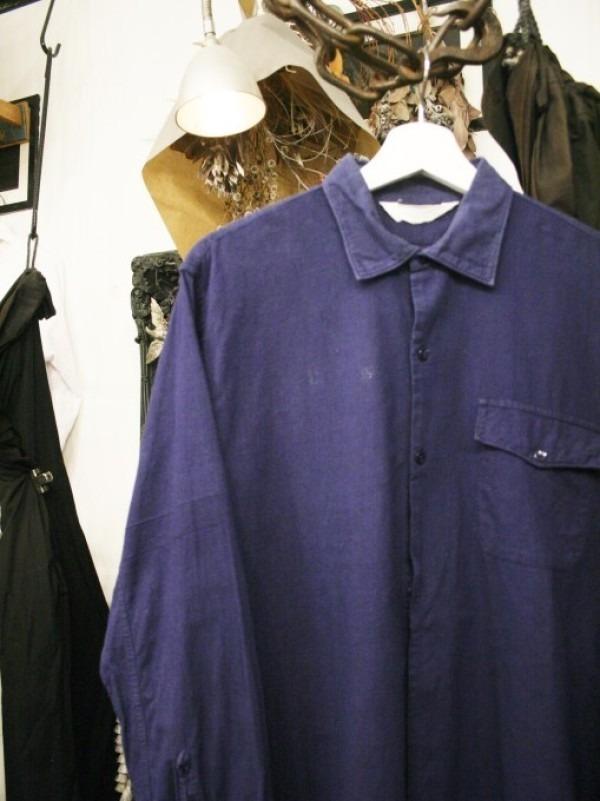 千葉のハンバーガー屋さん 入荷 夏のフランスワークウエア 珍しいワークシャツ、Tシャツ、ワークパンツなど_f0180307_01092793.jpg