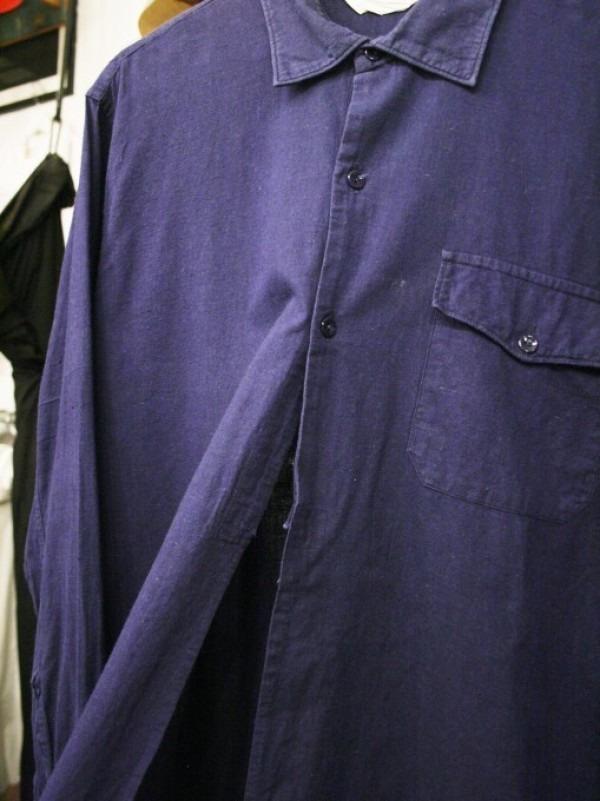 千葉のハンバーガー屋さん 入荷 夏のフランスワークウエア 珍しいワークシャツ、Tシャツ、ワークパンツなど_f0180307_01092876.jpg