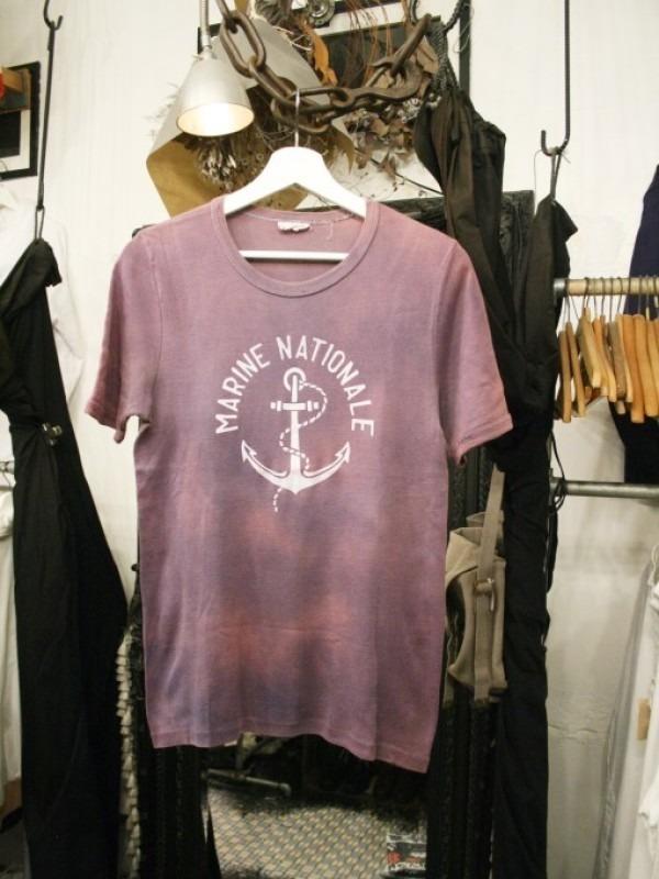 千葉のハンバーガー屋さん 入荷 夏のフランスワークウエア 珍しいワークシャツ、Tシャツ、ワークパンツなど_f0180307_02004430.jpg