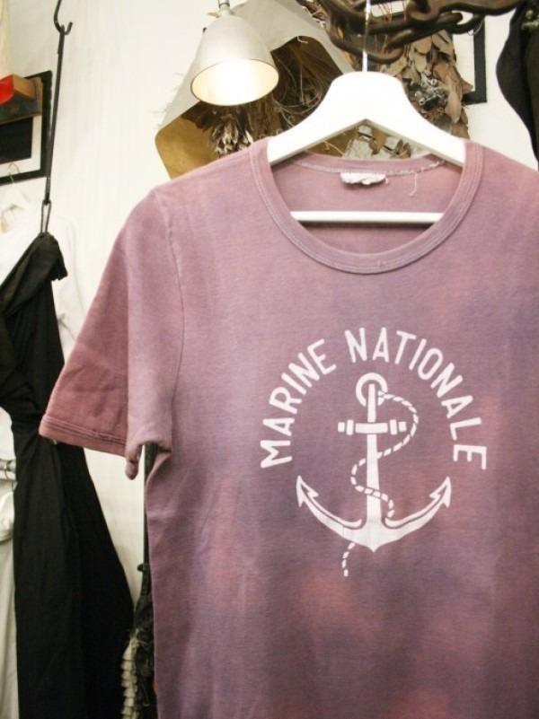 千葉のハンバーガー屋さん 入荷 夏のフランスワークウエア 珍しいワークシャツ、Tシャツ、ワークパンツなど_f0180307_02004471.jpg