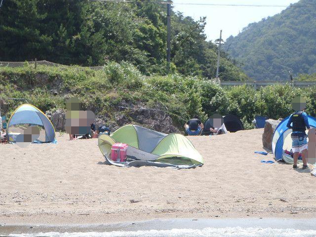 今シーズンも、わんわんビーチ_e0371017_22462503.jpg
