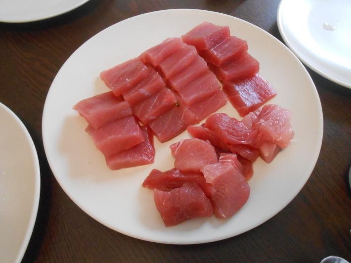 バレンシアで料理する 5)みんなでバレンシア中央市場へ!後編・市場で仕入れた材料で夕ご飯!_a0095931_14214920.jpg