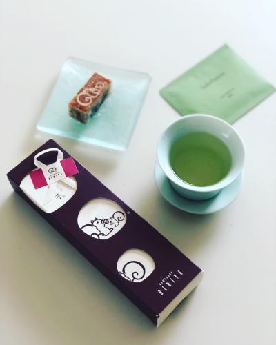 クルミっ子と韓国土産のお茶_b0048834_11511166.jpg