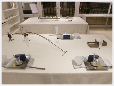永井小百合さんの真鍮作品で夏の夜のテーブル ~ブラッシュアップクラス_d0217944_21072689.jpg