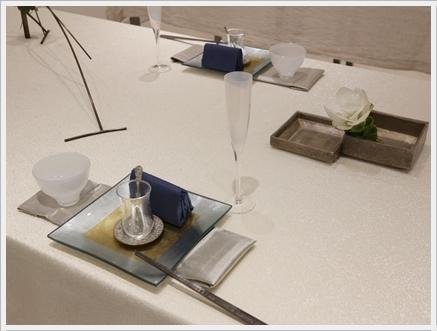 永井小百合さんの真鍮作品で夏の夜のテーブル ~ブラッシュアップクラス_d0217944_21073844.jpg