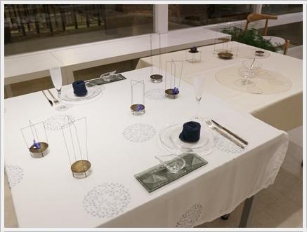 永井小百合さんの真鍮作品で夏の夜のテーブル ~ブラッシュアップクラス_d0217944_21113053.jpg