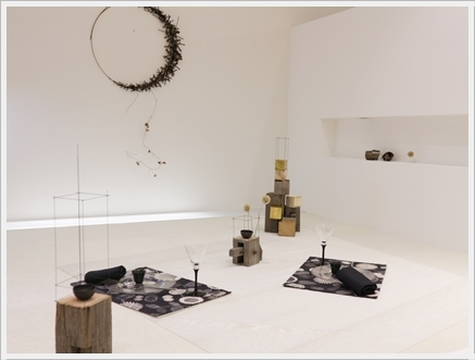 永井小百合さんの真鍮作品で夏の夜のテーブル ~ブラッシュアップクラス_d0217944_21160488.jpg