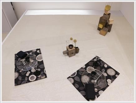 永井小百合さんの真鍮作品で夏の夜のテーブル ~ブラッシュアップクラス_d0217944_21161833.jpg
