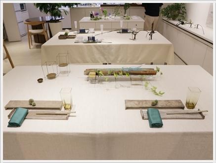 永井小百合さんの真鍮作品で夏の夜のテーブル ~ブラッシュアップクラス_d0217944_21290540.jpg