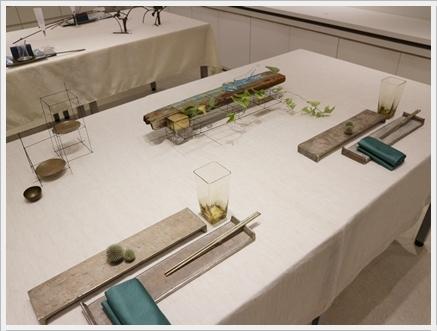 永井小百合さんの真鍮作品で夏の夜のテーブル ~ブラッシュアップクラス_d0217944_21495332.jpg
