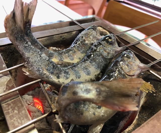 やまめ料理 阿瀬!_a0161408_22135120.jpg