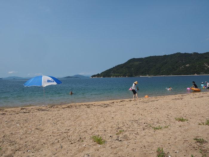 桂ヶ浜へ泳ぎに_c0116915_00100924.jpg