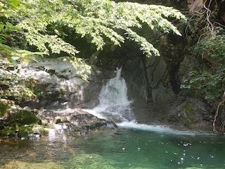 猛暑もどこへやら!冷たく涼しい飛騨の沢…九蔵本谷_c0359615_10220996.jpg