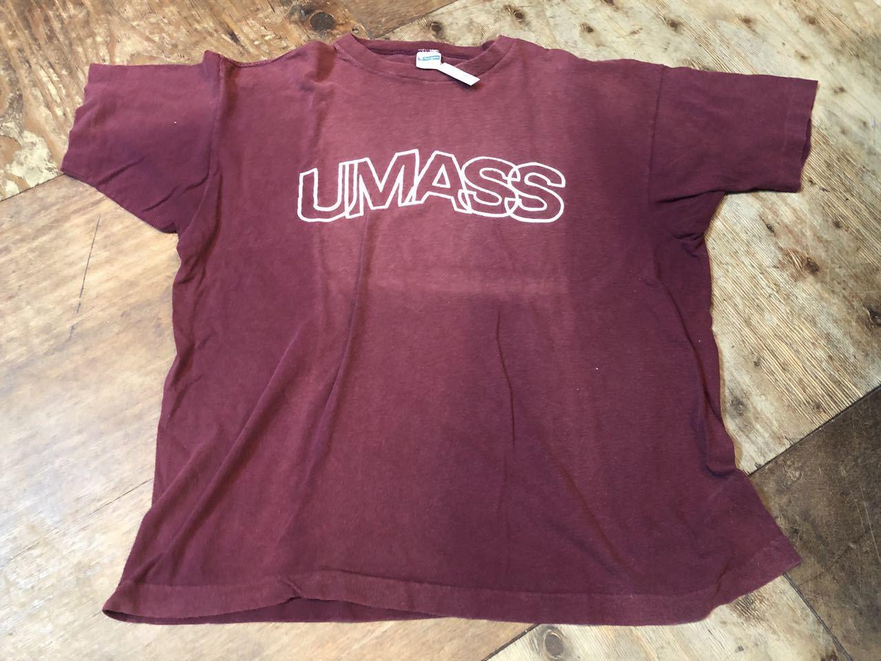 8月5日(月)入荷! 70s チャンピオン champion bar tag  University of Massachusetts  all cotton Tシャツ!_c0144020_14565500.jpg