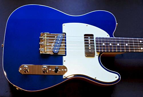 「Montecarlo Blue MetallicのStandard-T」1本目が完成!_e0053731_16442105.jpg