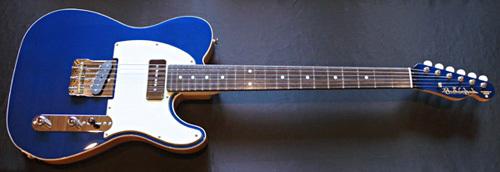 「Montecarlo Blue MetallicのStandard-T」1本目が完成!_e0053731_16442735.jpg