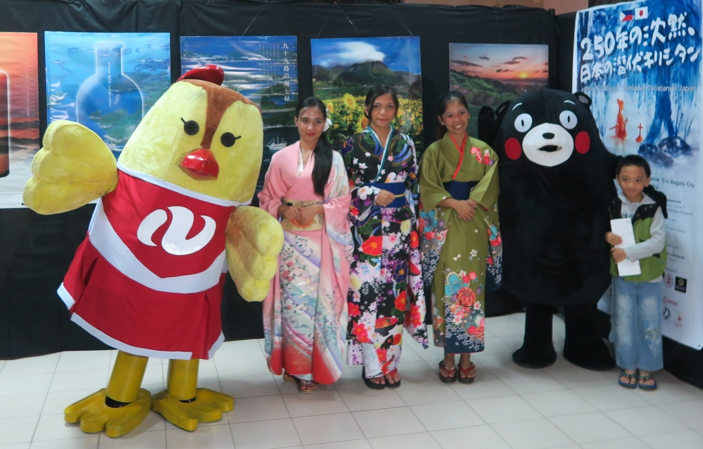 バギオ七夕祭10 Philippines-Japan Friendship month 2019  -その2- <長崎と天草地方の潜伏キリシタン関連・世界遺産 紹介コーナー>_a0109542_11570175.jpg