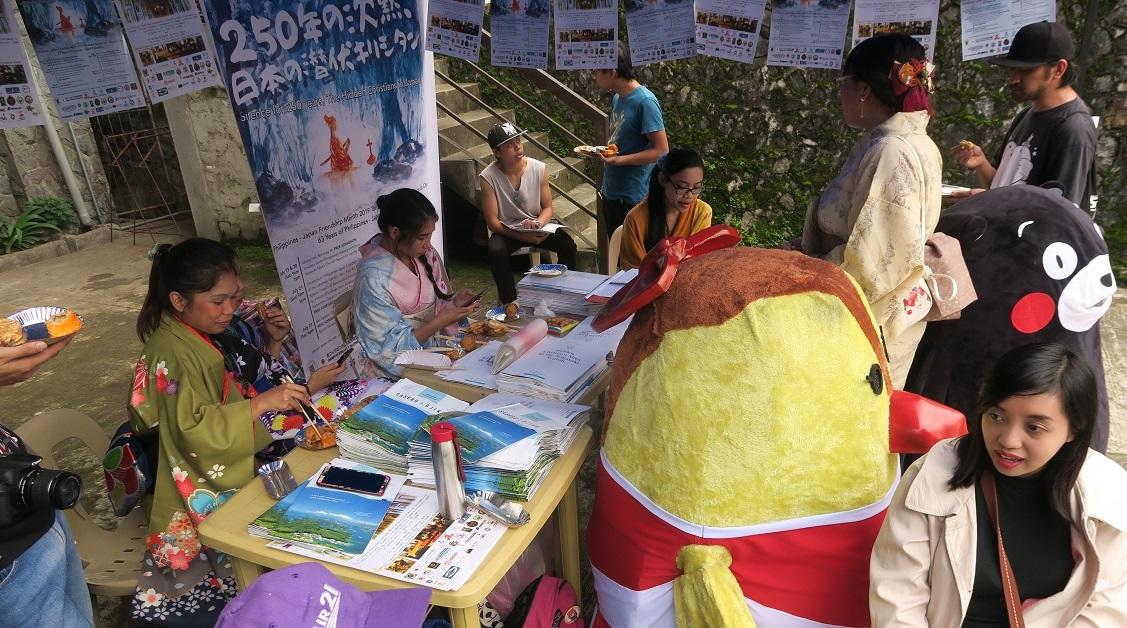 バギオ七夕祭10 Philippines-Japan Friendship month 2019  -その4- <「潜伏キリシタンと七夕祭」コーナー>_a0109542_17252273.jpg