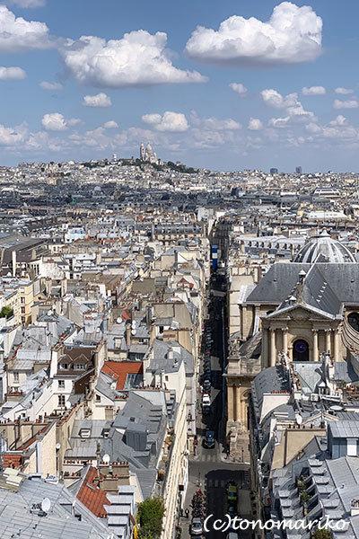 パリの「夏の遊園地」観覧車の上から_c0024345_18451335.jpg