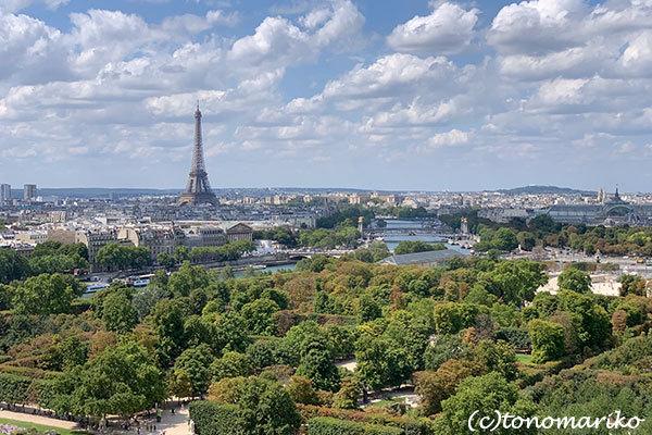 パリの「夏の遊園地」観覧車の上から_c0024345_18451375.jpg