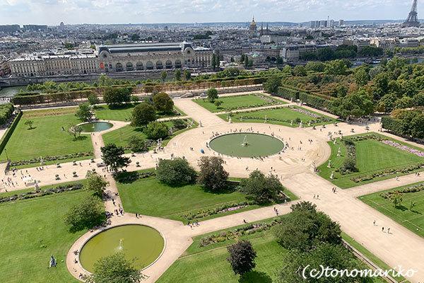 パリの「夏の遊園地」観覧車の上から_c0024345_18451408.jpg