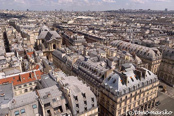 パリの「夏の遊園地」観覧車の上から_c0024345_18451412.jpg