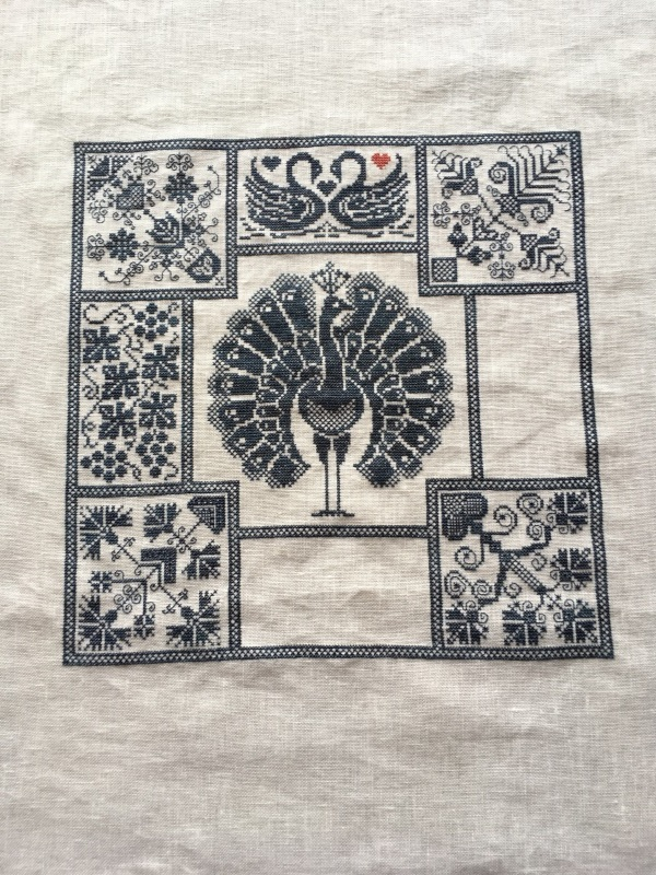 Linen and Threads Mystery Sampler 14_a0374562_12495140.jpg