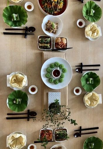 夏のイベントクラス無事終了 「美味しい韓国精進料理」_b0060363_12250130.jpeg