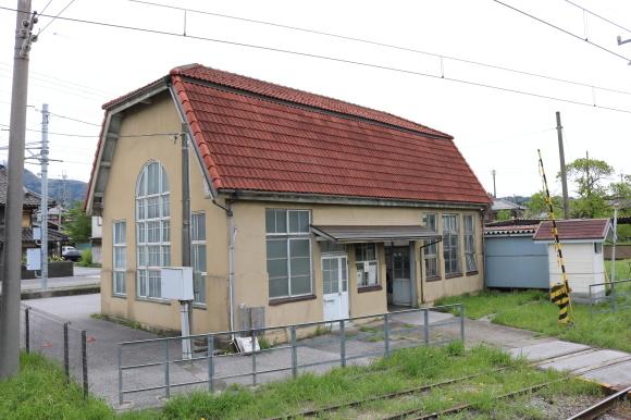 近江鉄道 鳥居本駅_c0001670_22135899.jpg