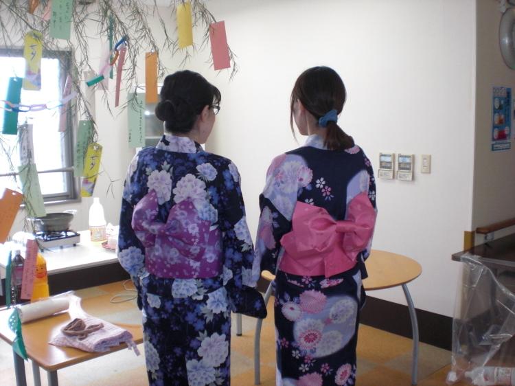 らくえん倶楽部の七夕祭り_e0191174_18263543.jpg