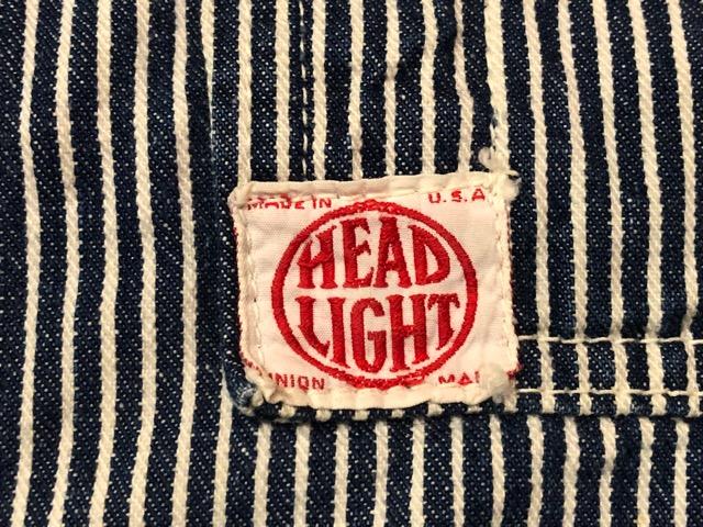 8月7日(水)マグネッツ大阪店 秋ヴィンテージ入荷!!#4  VintageWork編!! HEAD LIGHT & BlackChambray、BIG YANK!!_c0078587_17332092.jpg