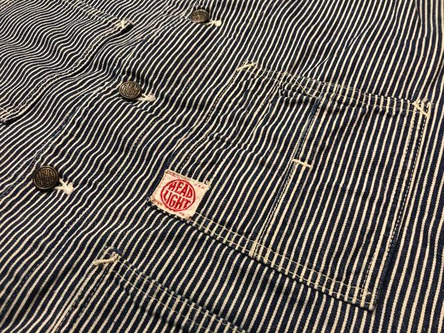 8月7日(水)マグネッツ大阪店 秋ヴィンテージ入荷!!#4  VintageWork編!! HEAD LIGHT & BlackChambray、BIG YANK!!_c0078587_1810645.jpg