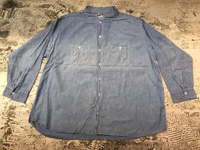 Chambray Shirt at U.S.Navy&Wrok!!(マグネッツ大阪アメ村店)_c0078587_18275960.jpg