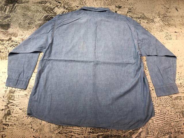Chambray Shirt at U.S.Navy&Wrok!!(マグネッツ大阪アメ村店)_c0078587_19365880.jpg