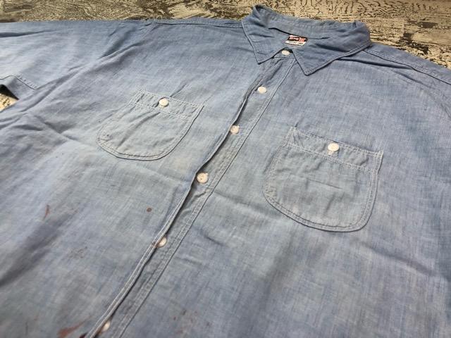 Chambray Shirt at U.S.Navy&Wrok!!(マグネッツ大阪アメ村店)_c0078587_19395273.jpg