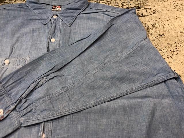 Chambray Shirt at U.S.Navy&Wrok!!(マグネッツ大阪アメ村店)_c0078587_19405943.jpg