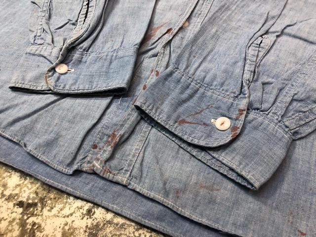 Chambray Shirt at U.S.Navy&Wrok!!(マグネッツ大阪アメ村店)_c0078587_1941694.jpg