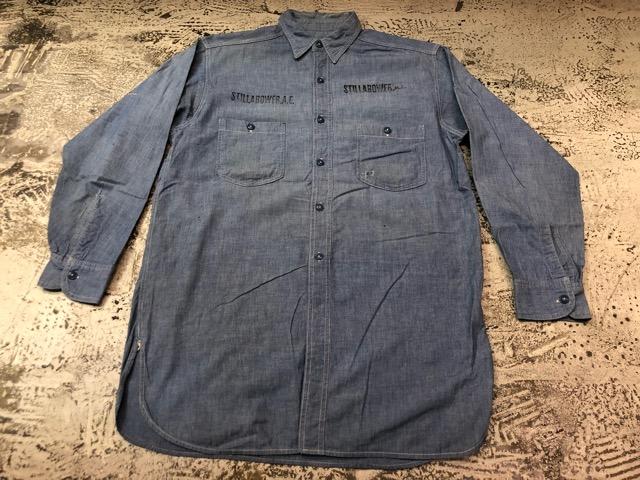 Chambray Shirt at U.S.Navy&Wrok!!(マグネッツ大阪アメ村店)_c0078587_23172210.jpg