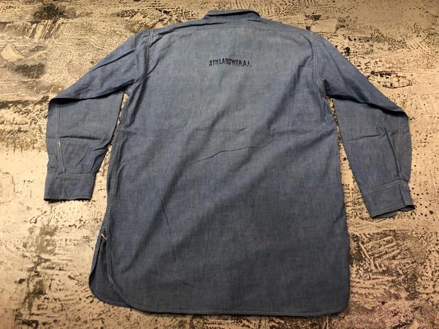 Chambray Shirt at U.S.Navy&Wrok!!(マグネッツ大阪アメ村店)_c0078587_23173268.jpg
