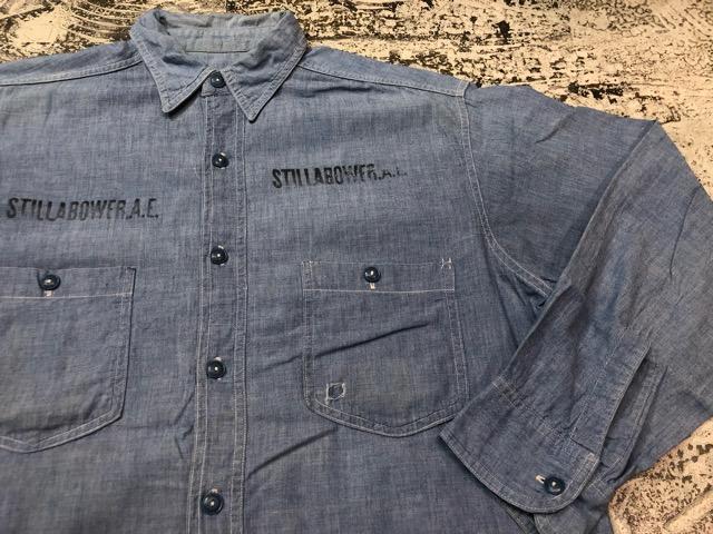 Chambray Shirt at U.S.Navy&Wrok!!(マグネッツ大阪アメ村店)_c0078587_2318267.jpg